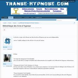 Bibliothèque des livres d' hypnose