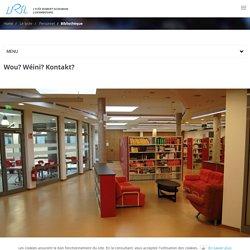Bibliothèque - Lycée Robert-Schuman Luxembourg