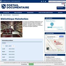 Bibliothèque Malesherbes
