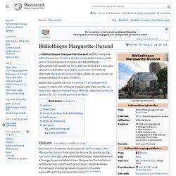 Bibliothèque Marguerite-Durand