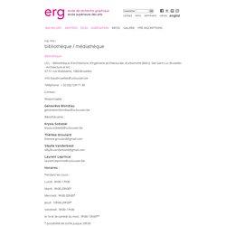 Médiathèque ERG