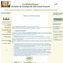 La Bibliothèque du Salon de musique de Jean-Louis Foucart