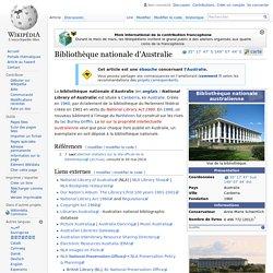 Bibliothèque nationale d'Australie