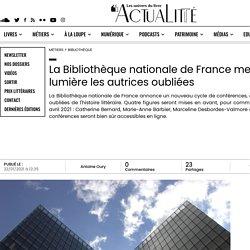 La Bibliothèque nationale de France met en lumière les autrices oubliées