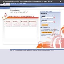 Extranet du dépôt légal des éditeurs (2010)