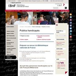 Préparer sa venue à la Bibliothèque nationale de France