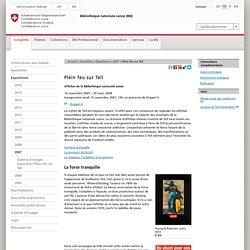 Bibliothèque nationale suisse BN -Plein feu sur Tell