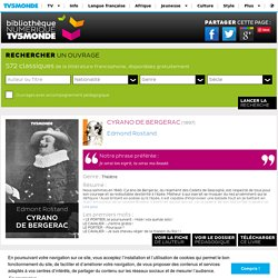 Cyrano de Bergerac - Bibliothèque NUMERIQUE TV5MONDE