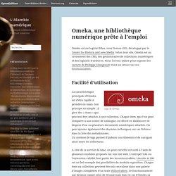 Omeka, une bibliothèque numérique prête à l'emploi – L'Alambic numérique