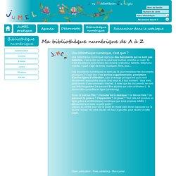 Ma bibliothèque numérique de A à Z