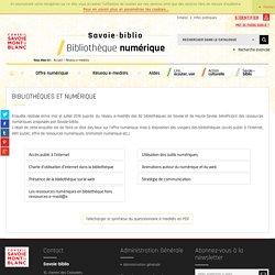 Bibliothèque numérique - Réseau e-medi@s