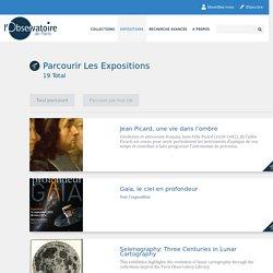 Parcourir les expositions · Bibliothèque numérique - Observatoire de Paris