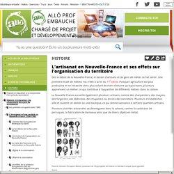 Bibliothèque virtuelle L'artisanat en Nouvelle-France et ses effets sur l'organisation du territoire