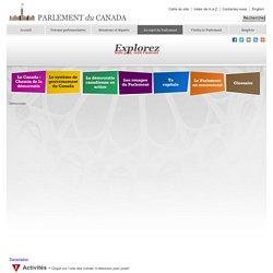 Bibliothèque du Parlement - Notre pays, notre Parlement