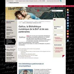 Gallica, la Bibliothèque numérique de la BnF