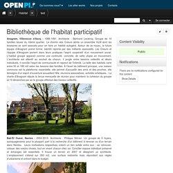 Bibliothèque de l'habitat participatif