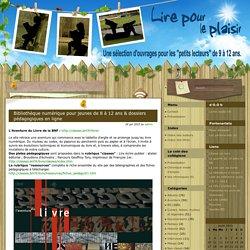 Bibliothèque numérique pour jeunes de 8 à 12 ans & dossiers pédagogiques en ligne
