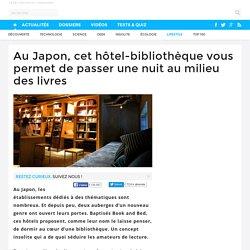 Au Japon, cet hôtel-bibliothèque vous permet de passer une nuit au milieu des livres