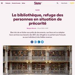 La bibliothèque, refuge des personnes en situation de précarité