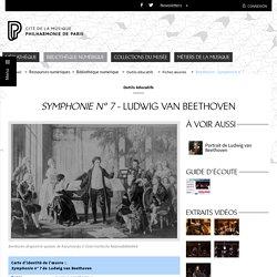 Bibliothèque numérique - Philharmonie de Paris - Pôle ressources - Symphonie n° 7 de Ludwig van Beethoven (debug)