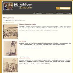 Bibliothèque Numérique du Limousin