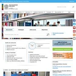 Bibliothèque de Polytechnique Montréal