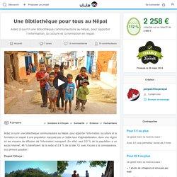 Une Bibliothèque pour tous au Népal