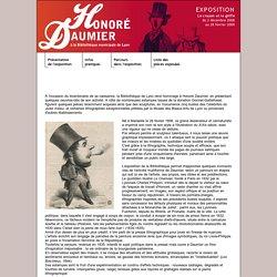 """Exposition Honoré Daumier : """"Le crayon et la griffe"""" - Présentation de l'expo"""