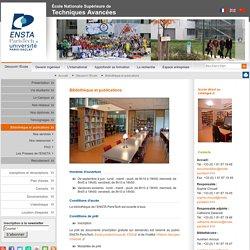Bibliothèque et publications