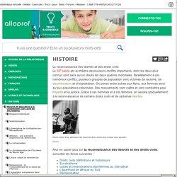 Bibliothèque virtuelle La reconnaissance des libertés et des droits civils