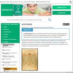 Bibliothèque virtuelle Renaissance : le renouvellement de la vision de l'Homme