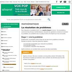 Bibliothèque virtuelle La résolution de problèmes