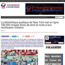 La bibliothèque publique de New York met en ligne 180.000 images libres de droit et incite à leur réutilisation créative