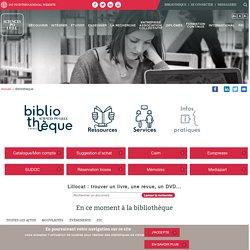 24/3 - 13h30/15h30 - BU Sciences Po Lille