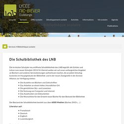 Lycée Nic-Biever - Dudelange