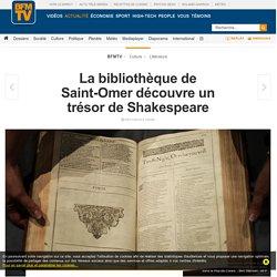 La bibliothèque de Saint-Omer découvre un trésor de Shakespeare