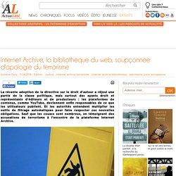 Internet Archive, la bibliothèque du web, soupçonnée d'apologie du terrorisme