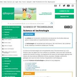 Bibliothèque virtuelle Science et technologie
