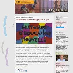 Blog Lecteurs de la Bibliothèque nationale de France - échangez, donnez votre avis, proposez un témoignage !