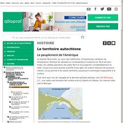 Bibliothèque virtuelle Le territoire autochtone