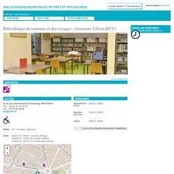Bibliothèque du tourisme et des voyages - Germaine Tillion (BTV)