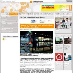 Le prix de l'innovation pour la bibliothèque universitaire Saint-Serge