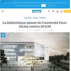 La bibliothèque géante de l'université paris-saclay ouvrira 24 h/24