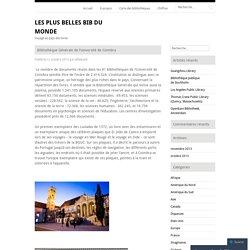 Bibliothèque Générale de l'université de Coimbra