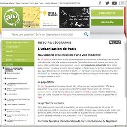 Bibliothèque virtuelle L'urbanisation de Paris