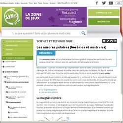 Bibliothèque virtuelle Les aurores polaires (boréales et australes)