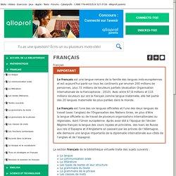 Bibliothèque virtuelle Français