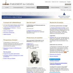 Bibliothèque virtuelle du Parlement du Canada