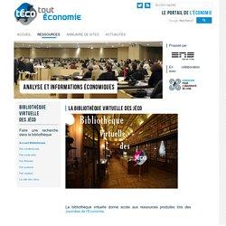Bibliothèque virtuelle : accueil