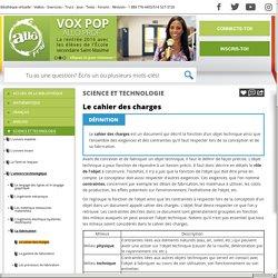 Bibliothèque virtuelle Le cahier des charges